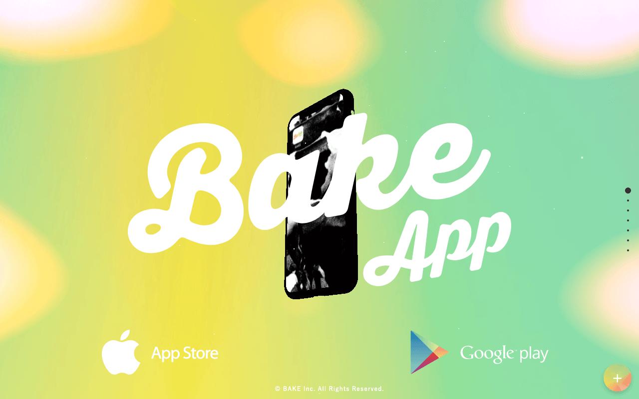 BAKE APP   BAKE Inc.