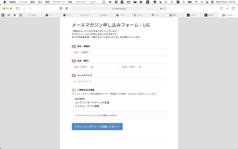 LIGブログ例