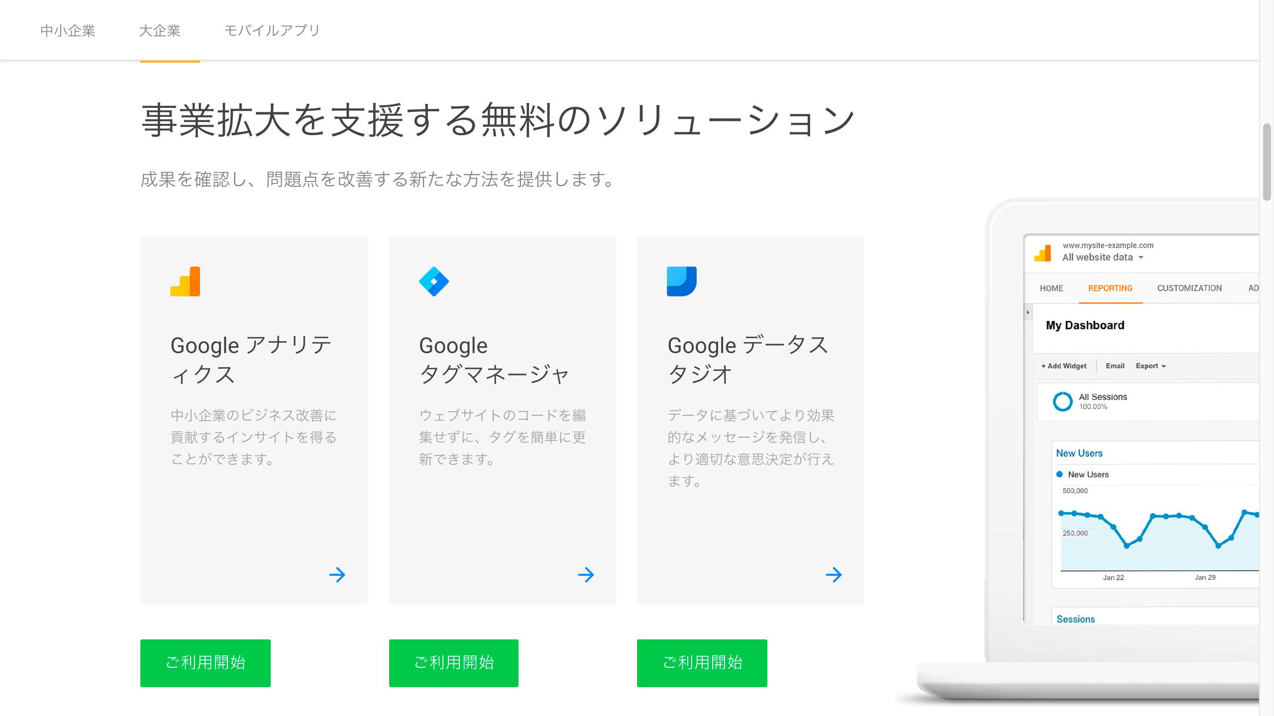 Googleアナリティクスのはじめ方と複数アカウントの設定方法