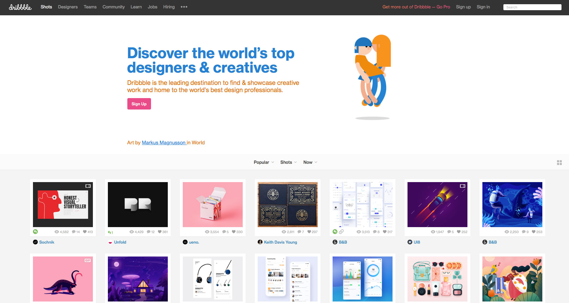 home_Dribbble