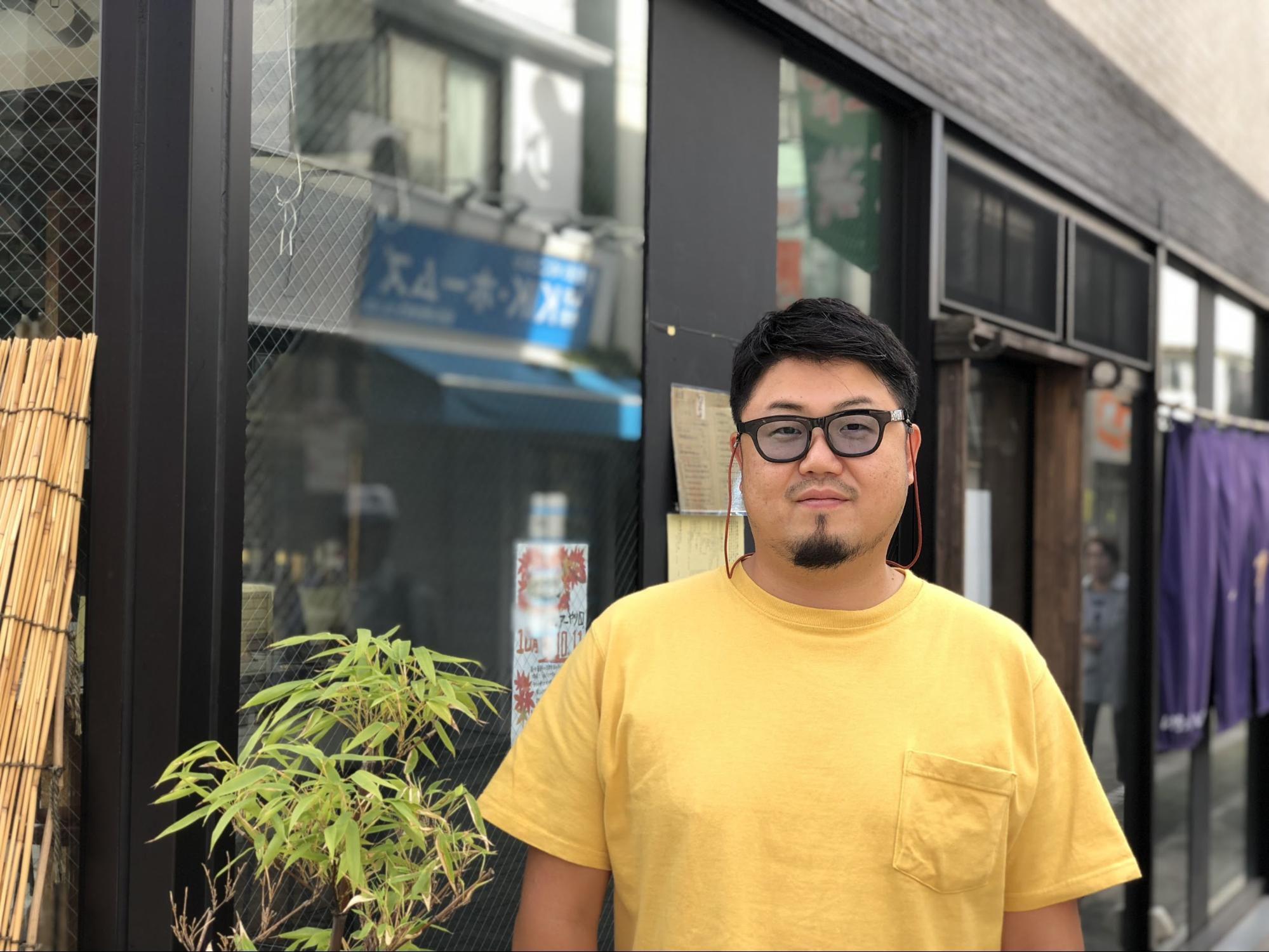 オーナーの加藤氏