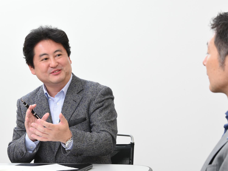臼井強氏と熊崎 対談