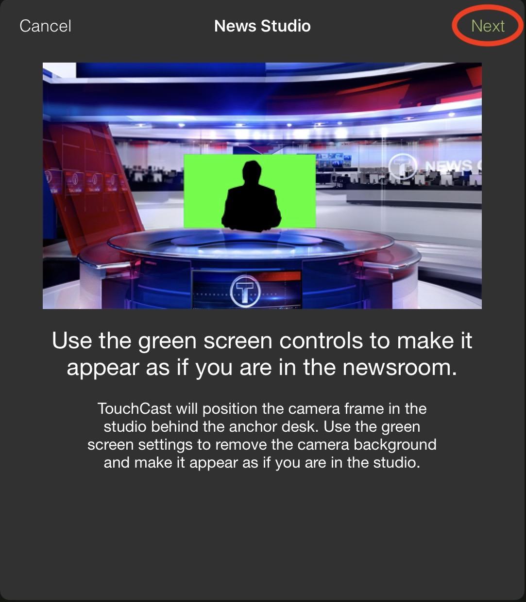 ニューススタジオ