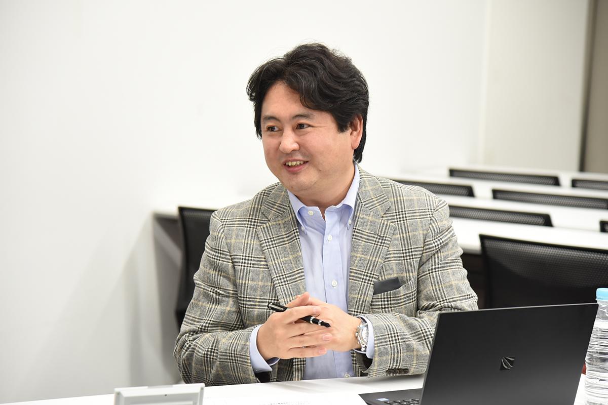 デジタルステージ代表取締役 熊崎隆人
